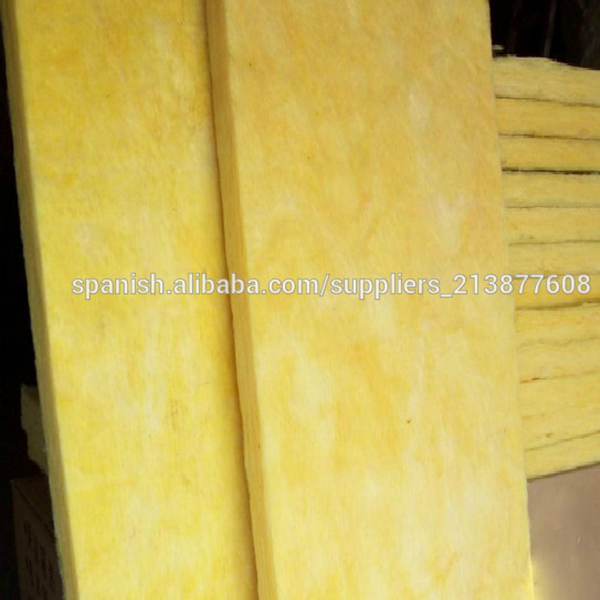 Glass wool insulation for fireplaces / glasswool board