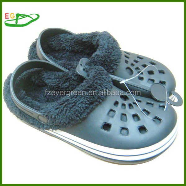 2015 Anti-slip Medical eva Clogs new coming black with lines