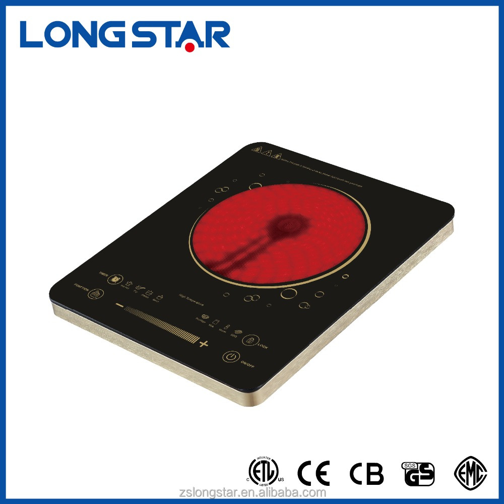 2000W Sensor Touch Control Infrared Cooker /infrared induction cooker /infrared cooktop