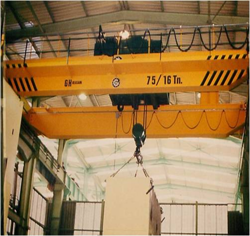 lightweight and frequency inventer double girder overhead crane