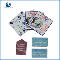 Wholesale cheap paper fridge magnet stickers