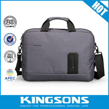 Notebook handbag 15.6 inch Waterproof Laptop bag for Men External USB Charge Computer Bag