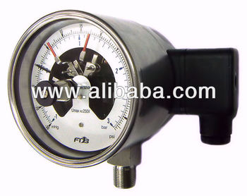 IP67 Electrical Contact Pressure Gauges