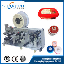 Semi Automatic Portable Sticker Flat Labeling Machine