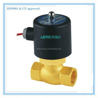 Airtac Type 2L(US) Series Brass Solenoid Steam Valve High Temperature