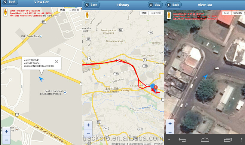 Cell Phone Gps Tracking Software with Android/IOS App