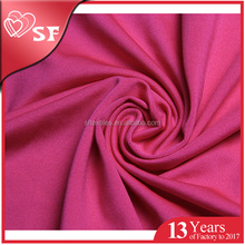 Factory hot sale 4 way stretch 92 polyester 8 spandex wholesale lycra spandex fabric