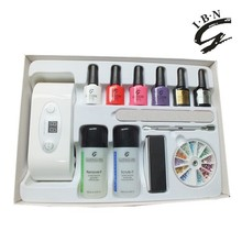 You choose whatever you like to make a customized gel nail polish kit