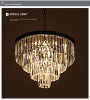 Modern Innovative candle and metal light fixture Altar Pendant Suspension Light Altar chandelier