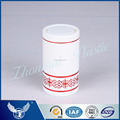 Good grade white colored and red floral design top opening cap for brandy whisky