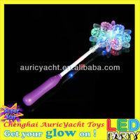 led flower stick/plastic flower stick/glow stick flower ZH0903829