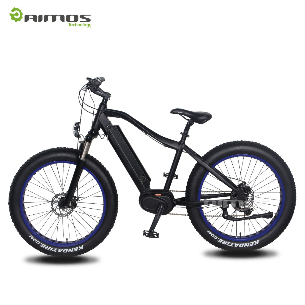 "EN15194 Popular Black 26"" Hybrid Electric bicycle"