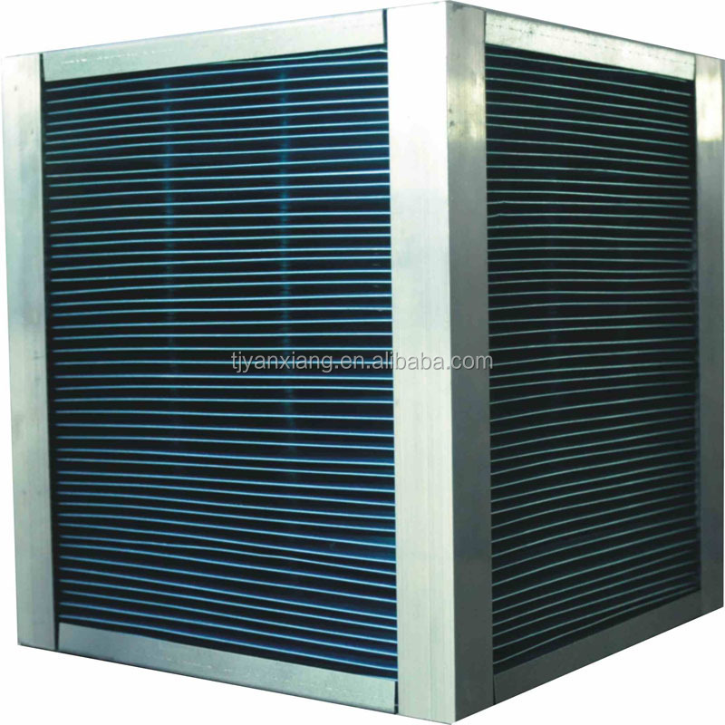 The cross flow heat exchanger is commonly used in heating, ventilation and air conditioning (hvac) applications