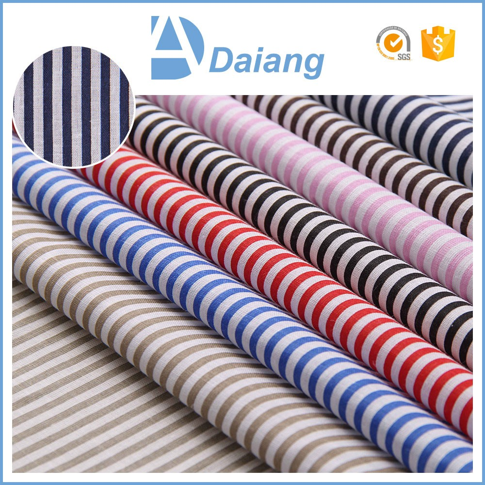 High quality 100 striped cotton woven fabric for sofa cover fabric materials