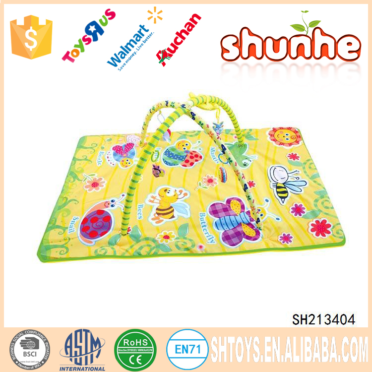 Deluxe Musical Activity Gym Baby Playing Mat