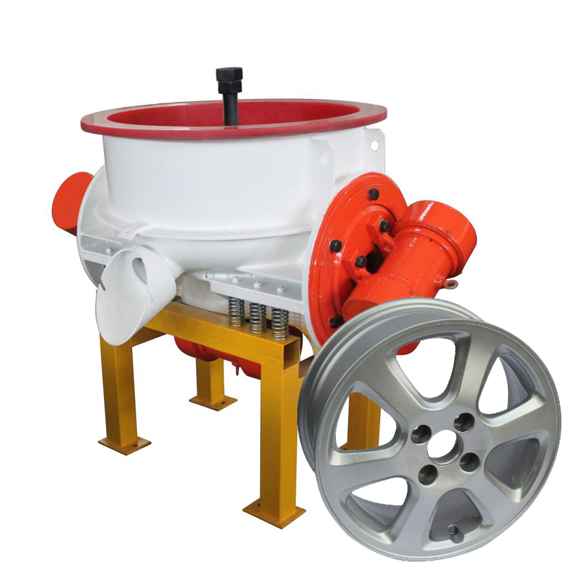 Best <strong>manufacturer</strong> for car Alloy wheel rim vibrating polishing machine tumbler vibratory finishing machine