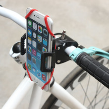 360 Adjustable phone stand for bike easy mount portable smart phone holder