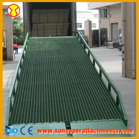 Hot Sale Factory Optional Color Car Hydraulic Loading Dock Ramps