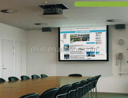 super projection electric mechanical projector screen
