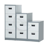 Xingyuan metal steel 2,3,4 layer drawer filing cabinet with cyber lock
