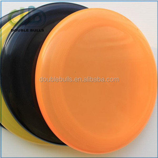 China manufacture high quality sports promotional custom logo printing ultimate frisbee discs