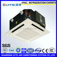 Central Air Conditioner Ceiling Cassette Fan Coil Unit for Heating or Cooling