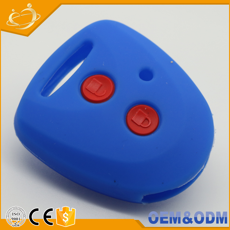 Silicone Cover Holder Remote Key Case 2 Button Fob Protective Head Cover for TOYOTA Yaris