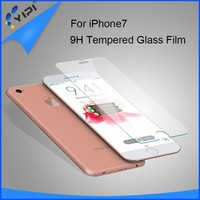 Factory Supply New Products 9H Electroplating Tempered Glass Screen Protector For Iphone 7/