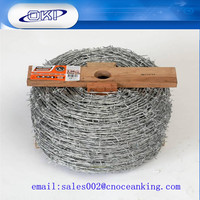 traditional twisted galvanized barbed wire with factory price