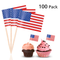 Wedding custom food picks toothpick flags wholesale
