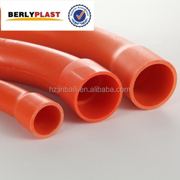 As nzs 2053 color naranja el ctrico pvc tubo de metal - Tubo pvc electrico ...