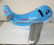 PVC Inflatable toy plane