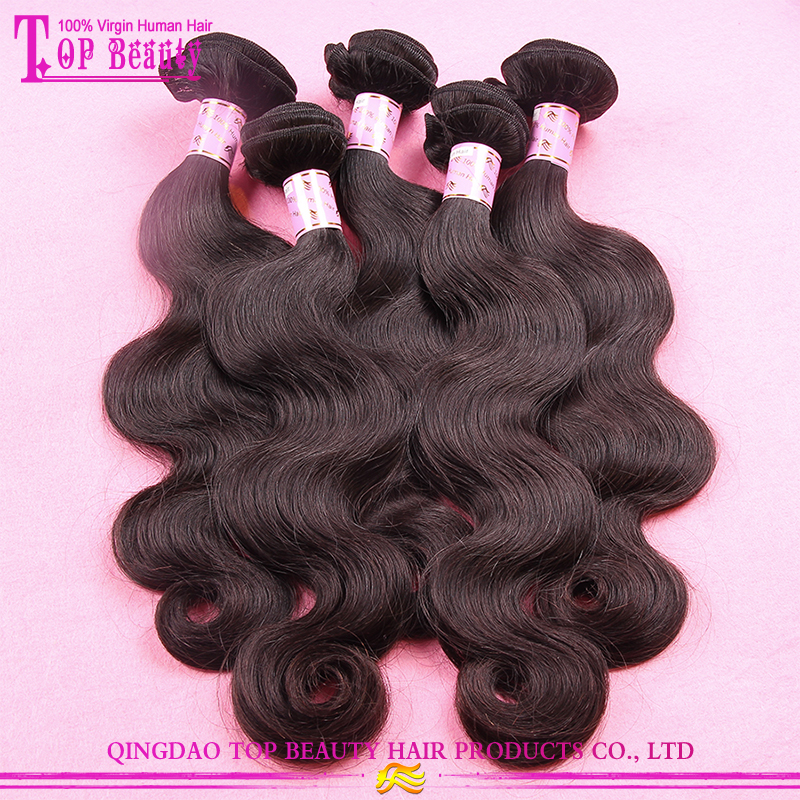 Qingdao factory supply 100% unprocessed brazilian hair weave wholesale virgin brazilian hair