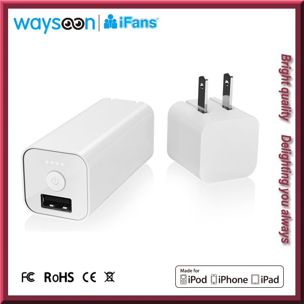 Small and Compact Portable Battery Charger, 2 in 1 Power Bank