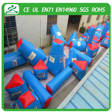 (40 pcs/set)Best Price Inflatable Paintball Bunkers/Inflatable Paintball Field For Sale