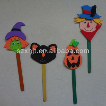 Halloween EVA toy/diy educational toy for kids