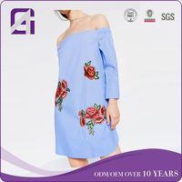 OEM Wholesale Factory silk velvet dress for US market