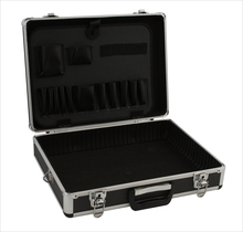 hard equipment case Aluminum Tool Box with foam and drawer Carrying suitcase