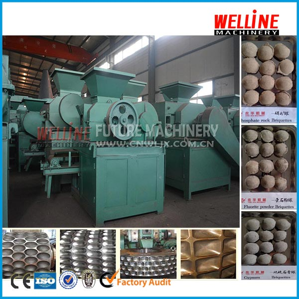 Factory direct sell egg pillow square shape anthracite,blind coal,soft coal briquette machine