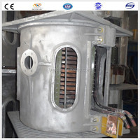 best selling products in dubai 1Ton electric smelter aluminum melting furnace melting meltal