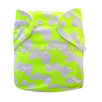 New designed Chevron Style Print Reusable Cloth Bulk Baby Diapers Washable