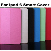 New Arrival Fashion Meteor Shower Leahter Stand Case For ipad 6 Air 2 with Card Slot