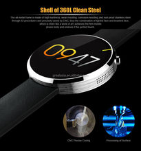 2016 New Arrive M360 Smart Watch Heartrate Monitor IPS Screen With Heart Rate Fitness Tracker For IOS And Android Phone