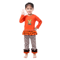 baby clothing long sleeve organic cotton western new fashion sweet children clothing