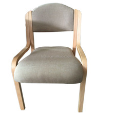 Wholesale fashion wood leather dining chair ding room PU chair