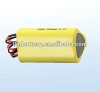 18650 rechargeable battery 10Ah 11.1v (li ion)