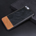 Genuine Leather Hybrid PC+TPU Phone Case for iPhone6/6S