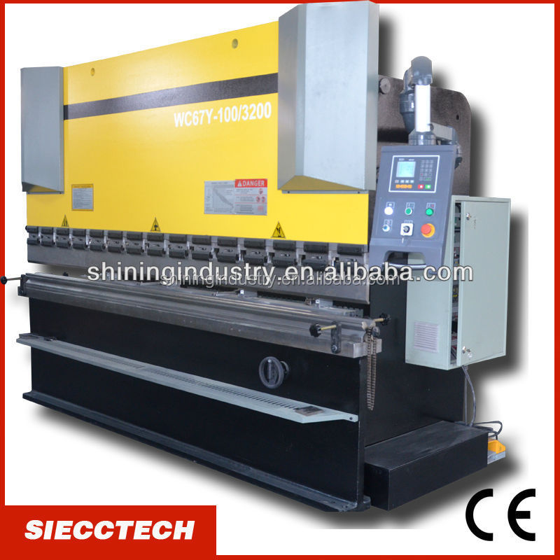 WC67Y/<strong>K</strong> 300T/3200 hydraulic press brake/bending machine