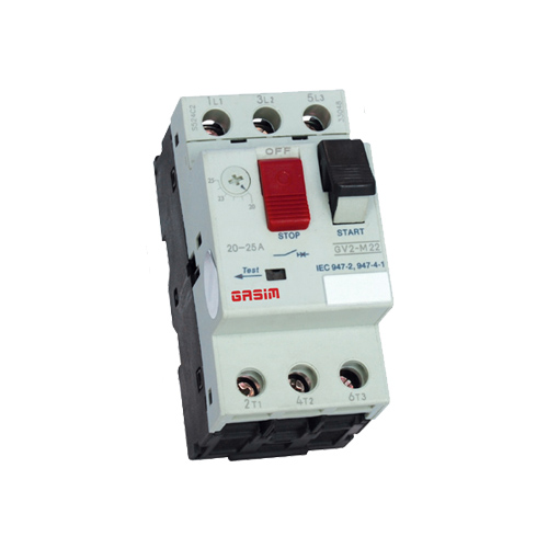 Full Voltage Starter Motor Air Circuit Breaker 6A 80A