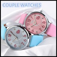 Latest Style Summer Waterproof Items Lady&Women cheap pair watch